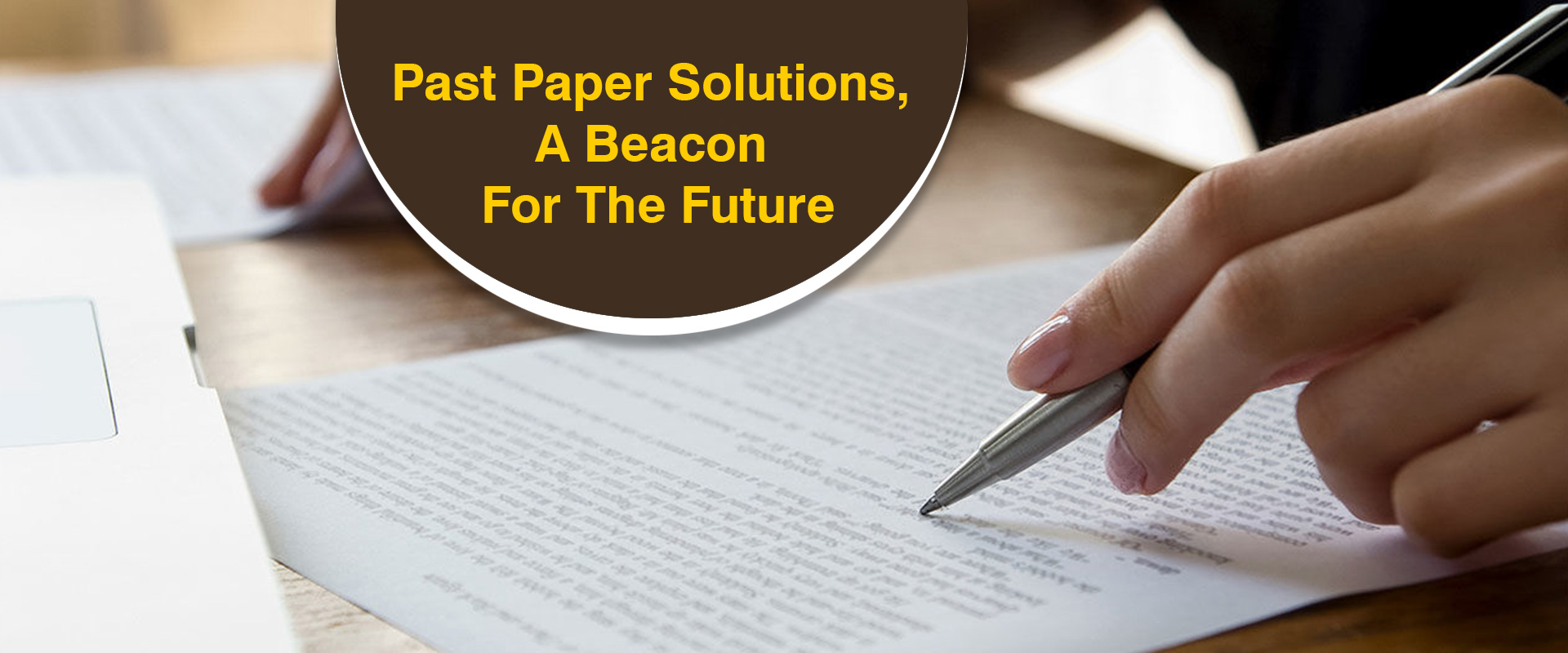 Paper Solution - Our Solutions Your Solutions